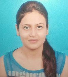 Anjali Pandey BCA Batch 2018-2019